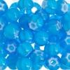 Seedbead Cornelian White Star 32/0 Light Blue